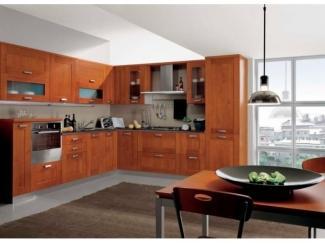 Кухня из массива ясеня Цезарь  - Мебельная фабрика «Массив»