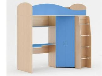 Большая детская кровать Чердак