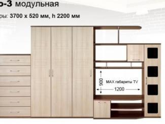Гостиная стенка  Рондо 3 - Мебельная фабрика «КМК (Красноярская мебельная компания)»