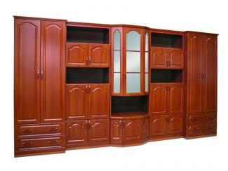 Гостиная стенка Розалия 01 - Мебельная фабрика «Гар-Мар»