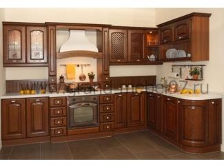 Кухня массив 08 - Мебельная фабрика «Гранд Мебель»