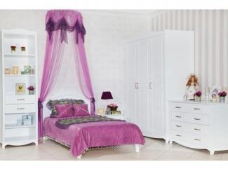 Мебель для детской в стиле прованс Снежана  - Мебельная фабрика «Lasort»