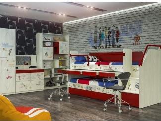 Детская модульная Актив 4 - Мебельная фабрика «Сканд-Мебель»