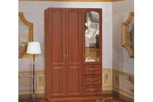 Шкаф Каролина 3х створчатый, 3 ящика - Мебельная фабрика «Аристократ»