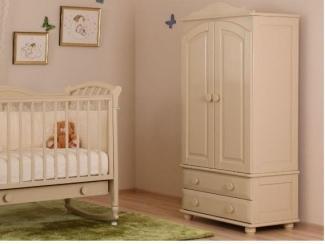 Детский шкаф из массива бука - Мебельная фабрика «Лель»