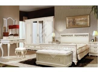 Элегантная спальня Оскар  - Мебельная фабрика «Молодечномебель»