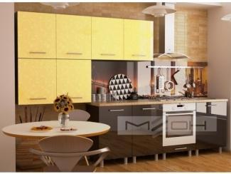 Современная прямая кухня ЛДСП-22 - Мебельная фабрика «Меон», г. Волжск