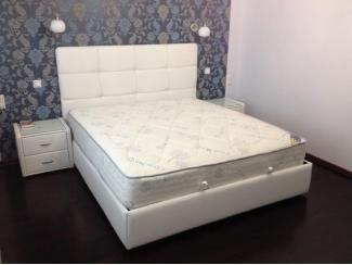 Белая кровать Некст  - Мебельная фабрика «Аванта», г. Ульяновск