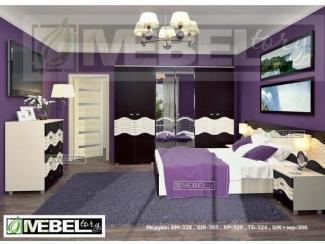 Спальня модульная Каролина 7 - Мебельная фабрика «MebelTory»