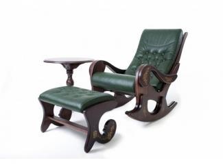 Набор Грация  кресло-качалка+столик+подножник - Мебельная фабрика «ОСТА»