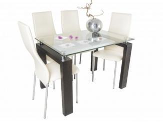 Стол обеденный Токио Бизнес - 4 стула Монако - Мебельная фабрика «Светличных»