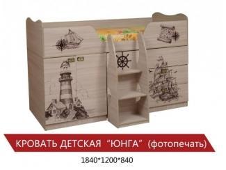 Детская кровать-чердак Юнга  - Мебельная фабрика «Мистер Хенк»