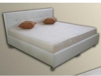 Большая белая кровать  - Мебельная фабрика «На Трёхгорной»
