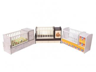 Детская кроватка - Мебельная фабрика «Папа Карло»