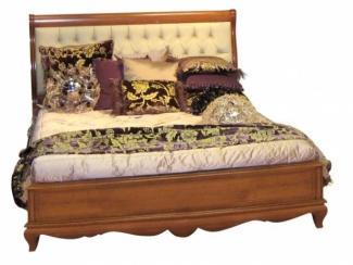Кровать с изголовьем капитоне - Импортёр мебели «Spazio Casa»