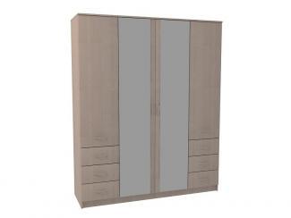 Шкаф четырехдверный с зеркалом