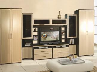 Гостиная стенка Анастасия 2 - Мебельная фабрика «Виктория»