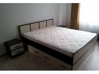 кровать с ящиками Линии  - Мебельная фабрика «Интерьер»