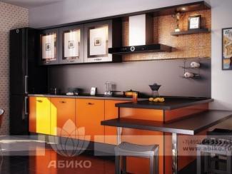 Кухня Бета Оранж - Мебельная фабрика «Абико»
