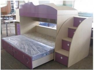 Детская на три спальных места  - Мебельная фабрика «Орвис»