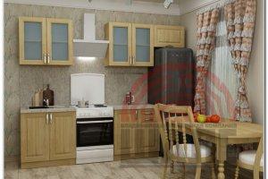 Кухня прямая Эпик-Оксфорд - Мебельная фабрика «ВМК-Шале»