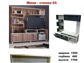Мини-стенка 03 - Мебельная фабрика «МЕБЕЛов»