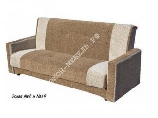 Диван Эстет с квадратными подлокотниками  - Мебельная фабрика «Экон-мебель»