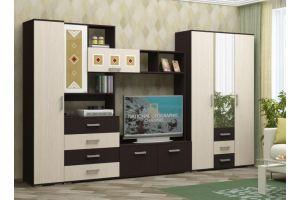 Гостиная стенка Белла с пеналом - Мебельная фабрика «МиФ»