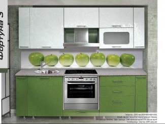 Кухонный гарнитур прямой Фортуна 3 - Мебельная фабрика «Форт»