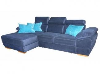 Синий диван Спаро 2-У21 - Мебельная фабрика «Престиж-Л»