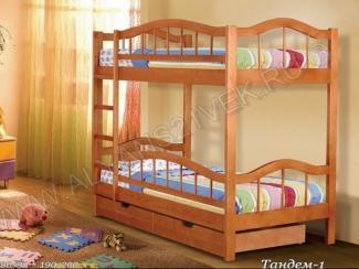 Двухъярусная кровать Тандем-1 - Мебельная фабрика «Альянс 21 век»
