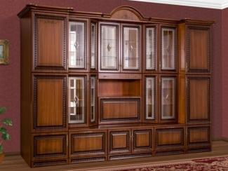 Гостиная стенка Магнолия Орех - Мебельная фабрика «Вестра»