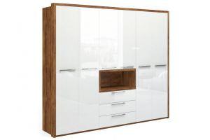 Шкаф для одежды Solo Quadro с нишей - Мебельная фабрика «Мебель-Москва»