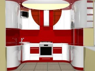 Кухонный гарнитур угловой Волна-Эконом