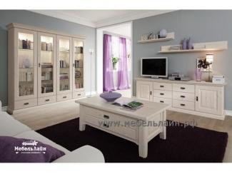 Светлая гостиная из дерева - Мебельная фабрика «МебельЛайн»