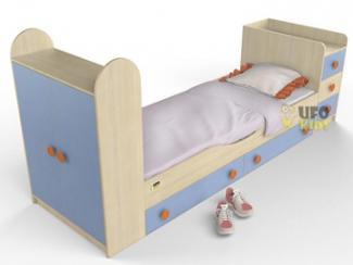Кровать детская со шкафом - Мебельная фабрика «UFOkids», г. Санкт-Петербург