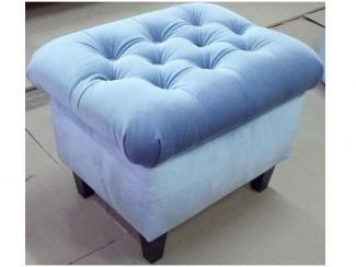 Голубой пуф - Мебельная фабрика «ESTET INTERIORS»