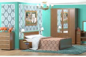 Уютная спальня Гармония  - Мебельная фабрика «Премиум»