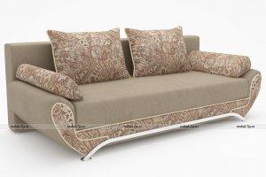 Раскладной диван МВС Клеопатра Тройка еврокнижка - Мебельная фабрика «Фабрика МВС»