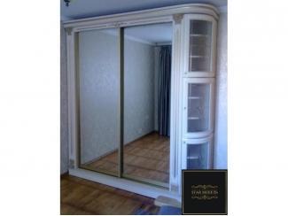 Шкаф-купе с угловыми полками  - Мебельная фабрика «STAR мебель», г. Ульяновск
