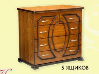 Комод «К-8» 5 ящика - Мебельная фабрика «Мебель Прогресс»