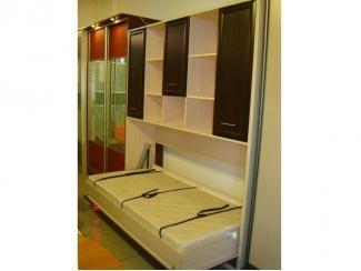 Шкаф-кровать с надстройкой под матрац  поперечный - Мебельная фабрика «МЕБЕЛов»