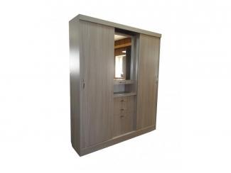 Удобный шкаф-купе в прихожую  - Мебельная фабрика «Муром (ЗАО Муром)»