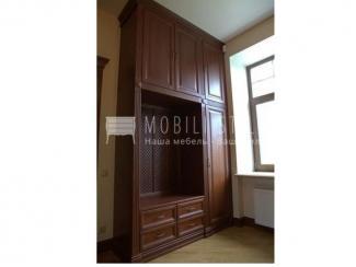 Прихожая из тонированного массива дуба  - Мебельная фабрика «Стильная мебель»