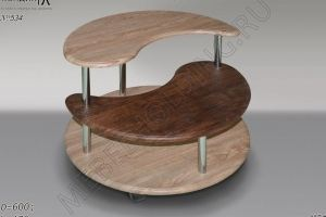 Журнальный стол Инь-Янь 2 - Мебельная фабрика «Мебель Холдинг»