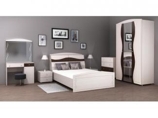 Модульный спальный гарнитур Амулет 2  - Мебельная фабрика «Бурэ», г. Санкт-Петербург