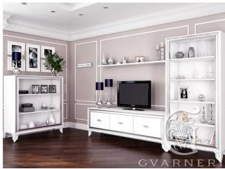 Идеальная гостиная в белом цвете Bugati - Мебельная фабрика «Гварнери»