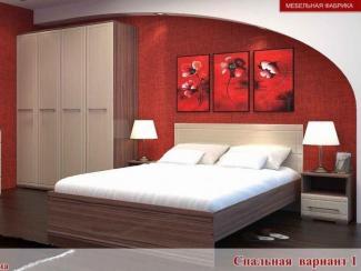 Спальный гарнитур Квадро вариант 1
