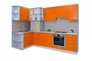 Кухонный гарнитур угловой 28 - Мебельная фабрика «Балтика мебель»