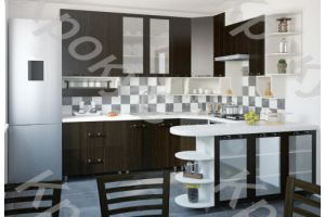 Кухонный гарнитур угловой Дарина 21 - Мебельная фабрика «Крокус»